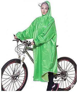 Chujian Chubasquero, Poncho Chaqueta Impermeable Adulto Bicicleta ...