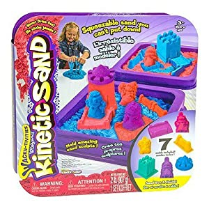 Kinetic Sand Castle Playset - 61IBiNfX5vL - Kinetic Sand Castle Playset