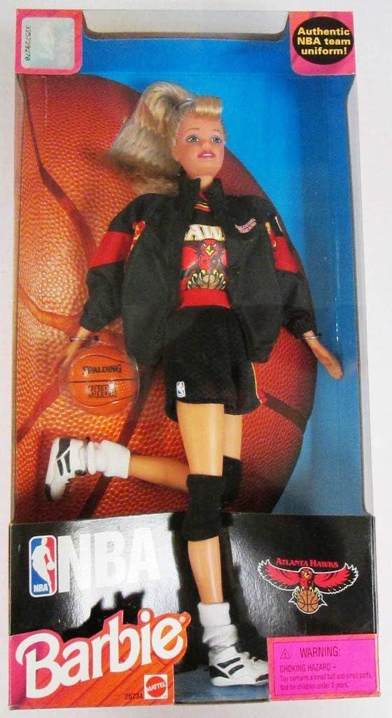Amazon.es: Barbie 1998 National Basketball Association NBA 12 Inch ...