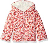Joules Baby Girls Cosette Reversible Fleece, Cream Ditsy, 3-6
