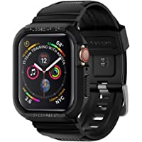 Spigen Rugged Armor Pro Serisi Kılıf Apple Watch Serisi 4 (44mm) ile Uyumlu - Black