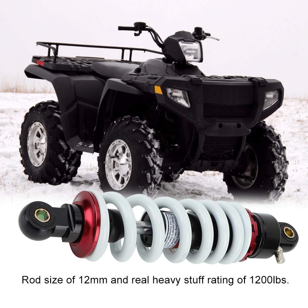 Hlyjoon Shocks Struts Sospensioni pneumatiche posteriori ammortizzatori a molla 290mm Alluminio ammortizzatori ammortizzatori per Dirt Pit Bike ATV Universal