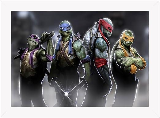 Cuadro Decorativo Tortugas Ninja 5: Amazon.es: Hogar