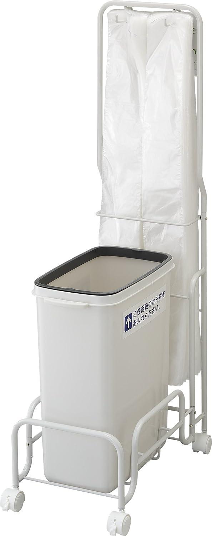 リス 傘入れ用袋スタンド 『雨天時に便利な傘入れ用袋スタンド傘袋ゴミ容器』 グレー B00E7I1JWY