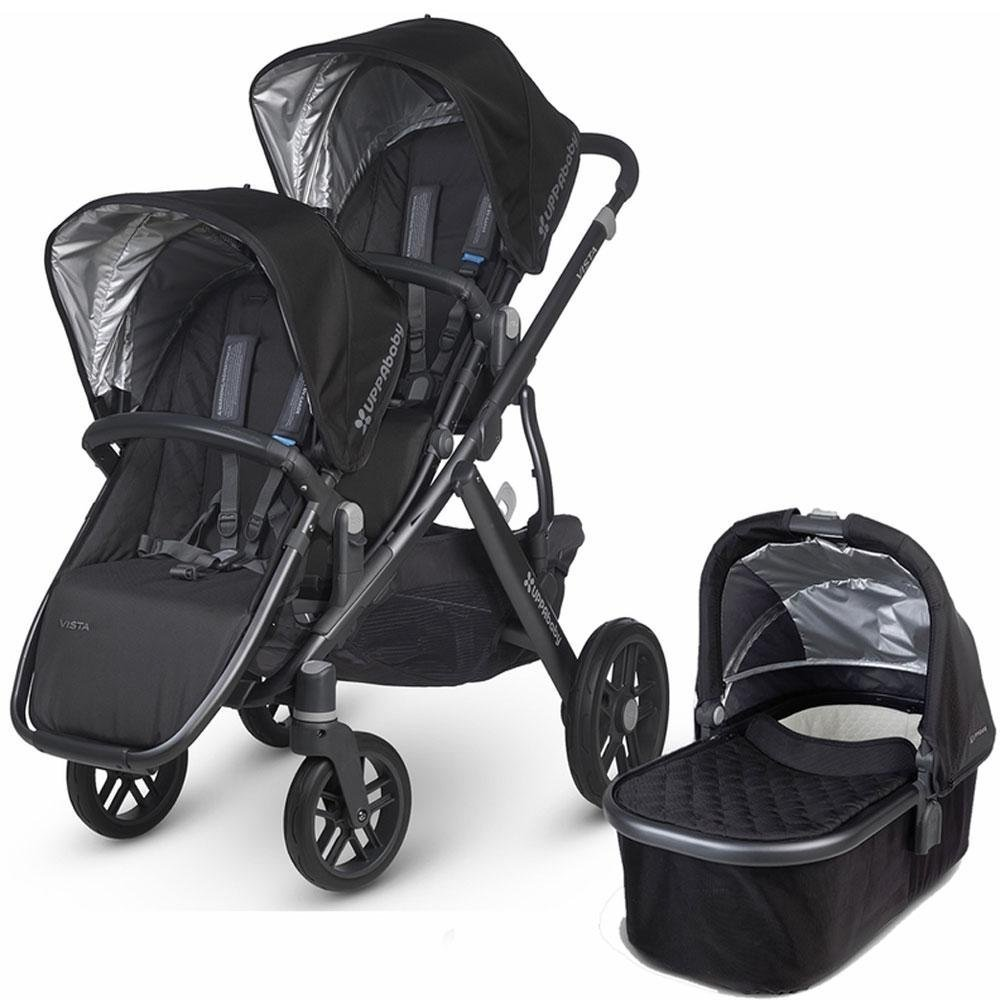 UPPAbaby 2017 Vista Double Stroller Kit with Bassinet, Jake by UPPAbaby (Image #1)