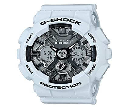 0fe02b1d3e5b Amazon.com  G-Shock Women s GMA-S120MF-2ACR Blue One Size  Watches