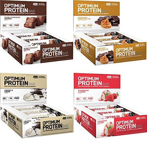 Optimum Nutrition ON High Protein 10x60g Bars Bar (Double Choc Brownie)