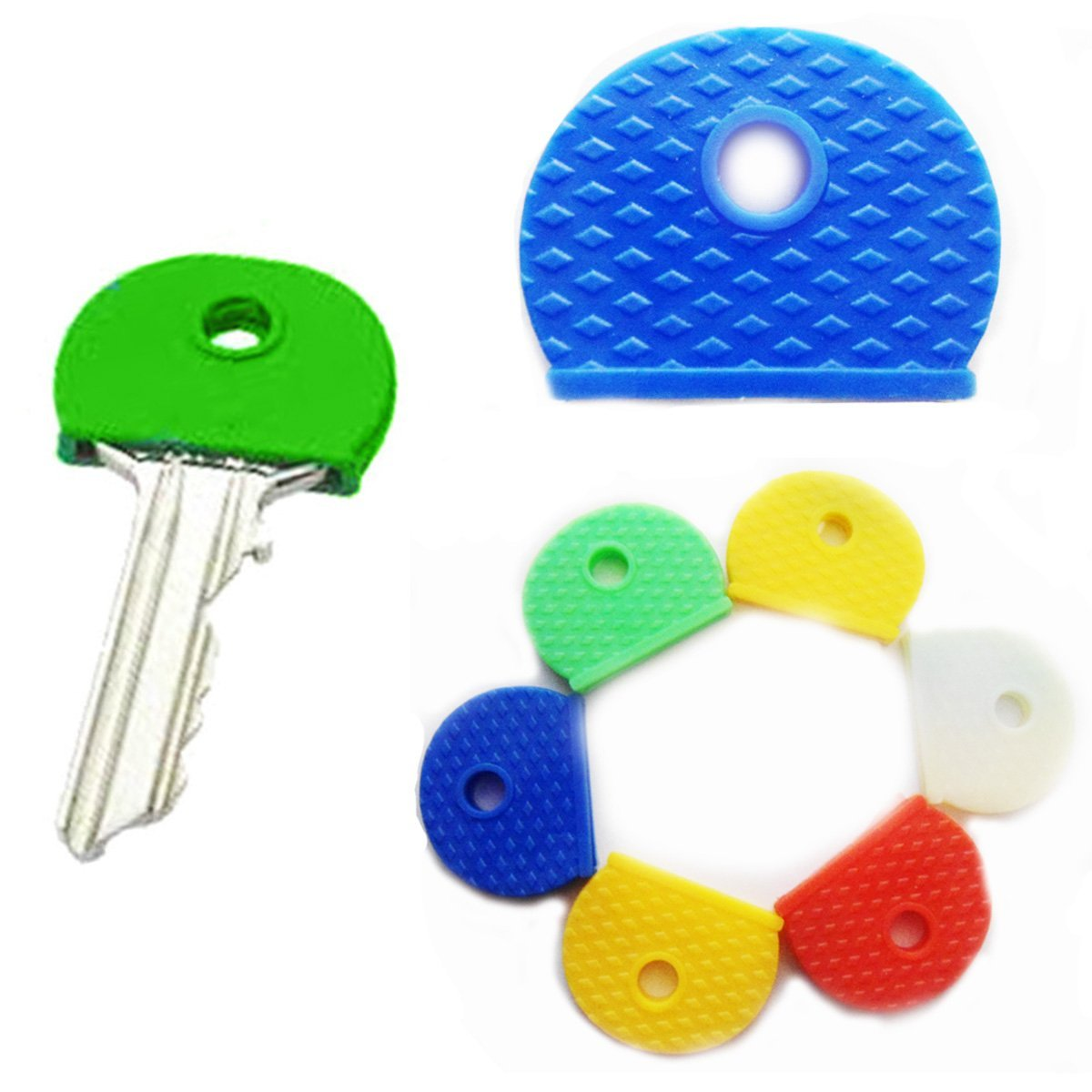 Coloured Key Cap Cover Pack of 5