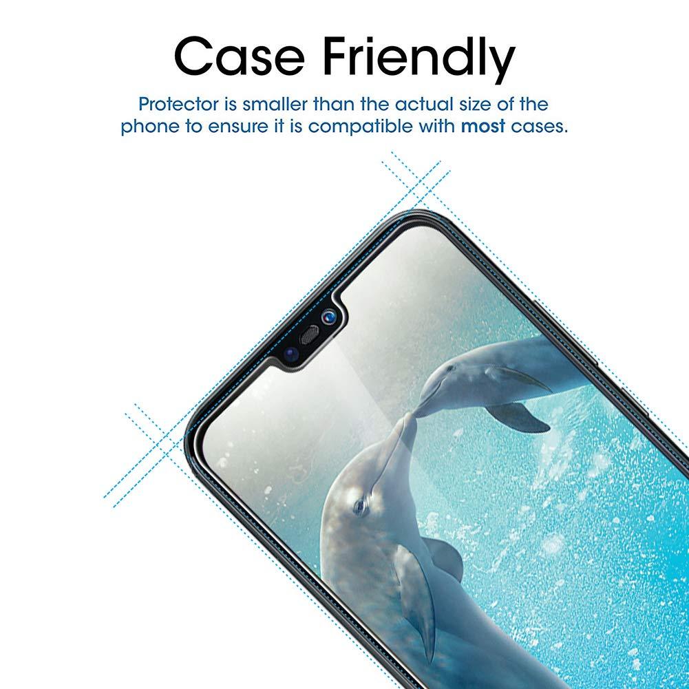 Protection ecran Huawei Mate 20 Pro en Verre Tremp/é /écran Protecteur vitre Hanbee Verre Tremp/é Huawei Mate 20 Pro 2 Pi/èces Coque Compatible