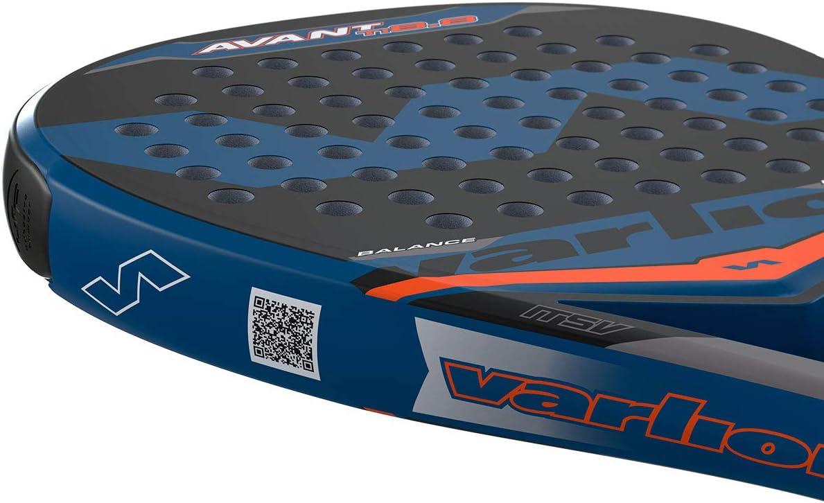 VARLION Avant Ti 8.8/ Pala de Pádel, Unisex Adulto, Azul, 355-360 ...