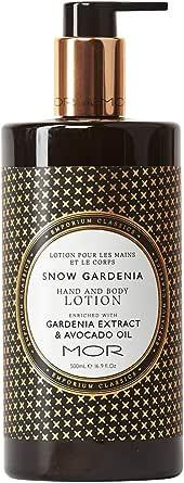 MOR Boutique Emporium Classics Snowgardenia Hand & Body Lotion, 16.9 Fluid Ounce, Snowgardenia, 500ml