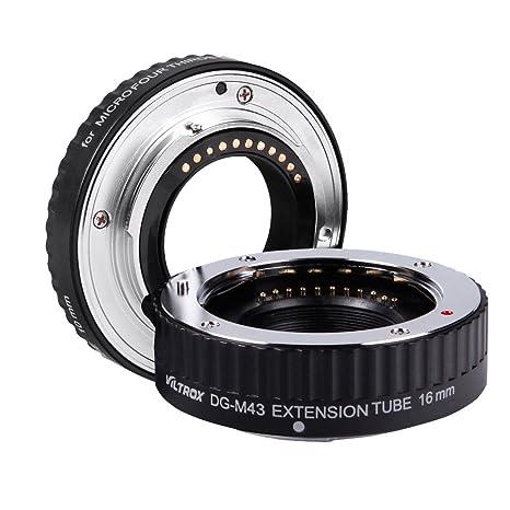 Viltrox Anillo de extensión Macro AF Enfoque automático Tubo de extensión de DG 16mm 10mm Anillo