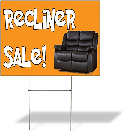 Amazon.com: Cartel de destino reclinable venta. Al aire ...