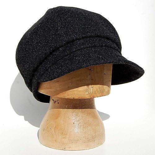 238082887bb25 ZUT hats - black wool cap -ZUTjean  Amazon.co.uk  Handmade