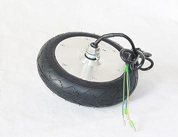 24V / 36V / 48V 150W Scooter eléctrico motor de la rueda de 8 pulgadas Motor