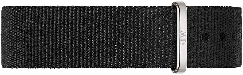 Daniel Wellington DW00200136, Pulsera de Montre, Unisex , negro
