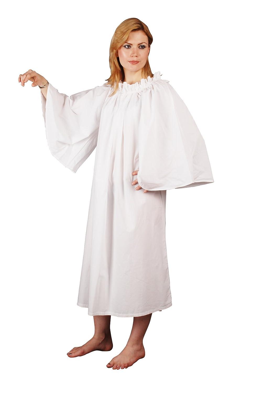Women's Celtic Renaissance White Chemise - DeluxeAdultCostumes.com