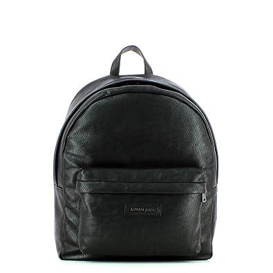 4cdffd718ee Armani Jeans Sac à dos en faux cuir Noir  Amazon.fr  Chaussures et Sacs