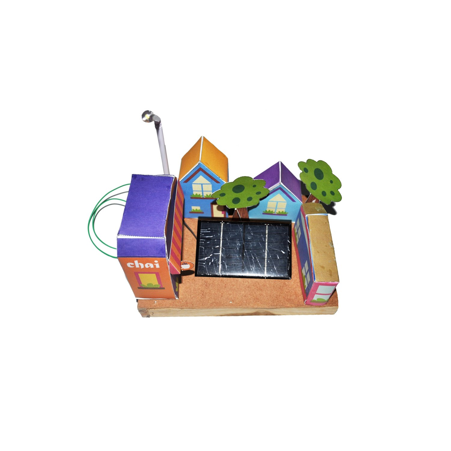 Ecocity - green solar Science Projects Working Models - DIY Science Experiment kit