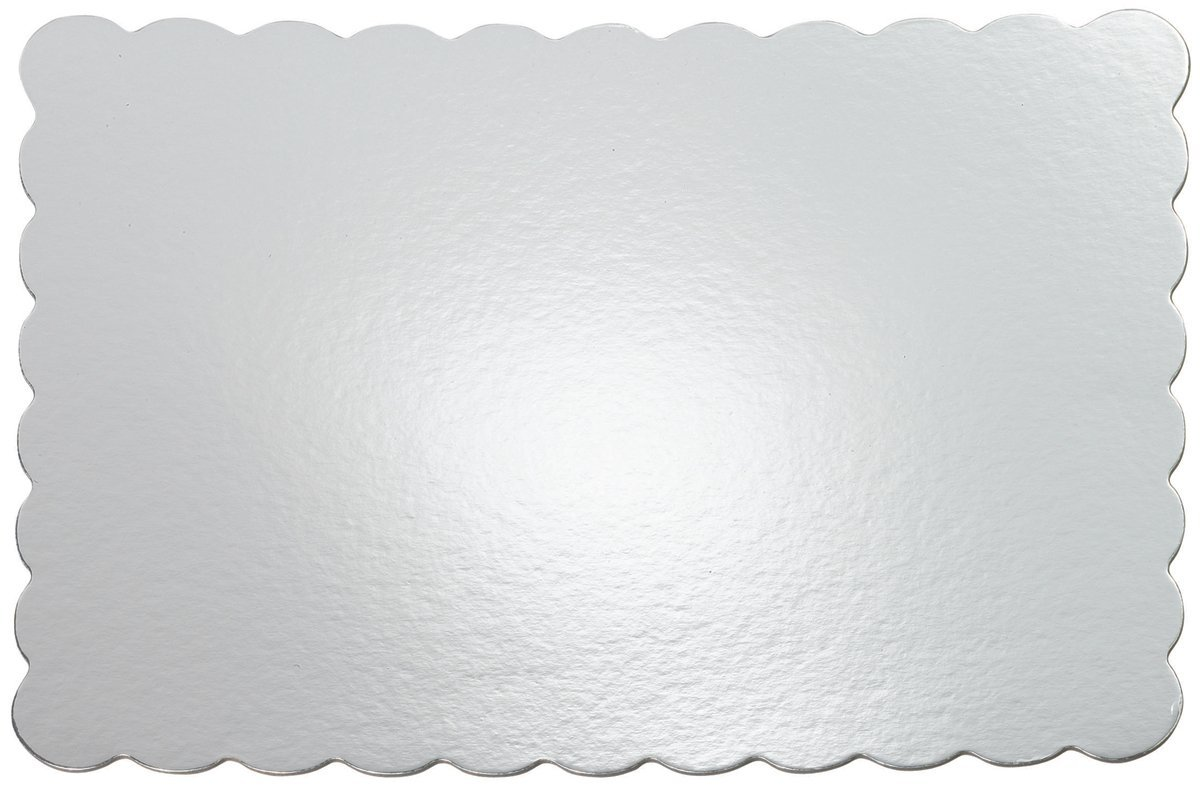 Wilton 13 x 19 Silver Cake Platters, 4 Count
