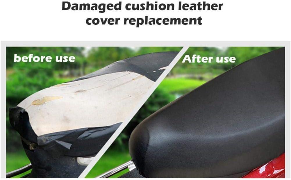 terciopelo c/álido y suave para el invierno tackjoke Funda para asiento de moto o scooter a la lluvia color negro de piel resistente al agua a los rayos UV