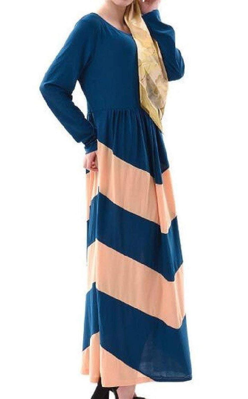Sweethope Vestido de Falda con Cuello en V árabe musulmán Abaya de ...