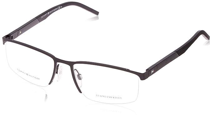 Amazon.com: Gafas de sol Tommy Hilfiger Th 1640 0003 negro ...