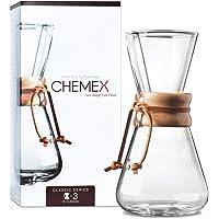 Chemex Glass Coffeemaker Classic 3-Cup Clear