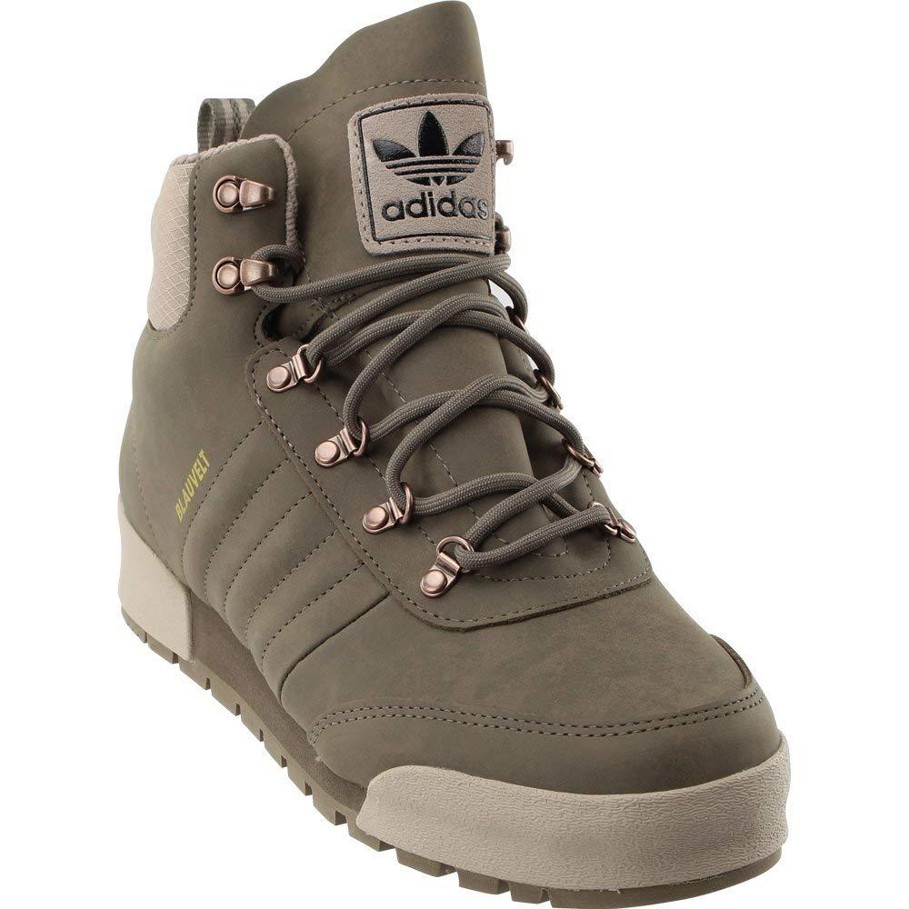 braun   grau-schwarz Adidas Originals Jake Stiefel 2.0 monopatín zapato, schwarz   schwarz   schwarz, 7 M US