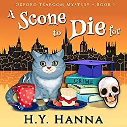A Scone To Die For Oxford Tearoom Cozy Mysteries, Book 1