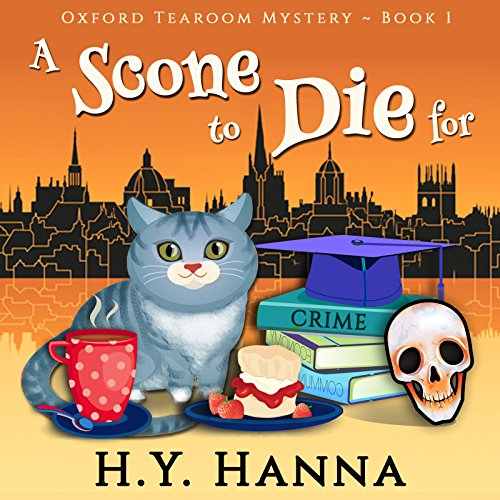 A Scone to Die For: Oxford Tearoom Cozy Mysteries, Book 1 cover
