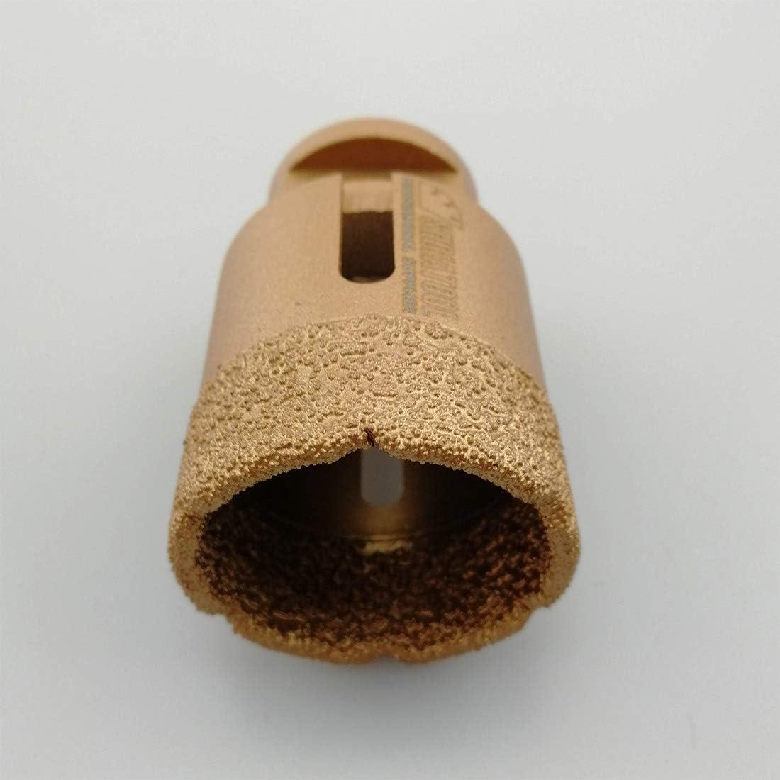 SHDIATOOL Broca de Diamante 4 Piezas para Perforaci/ón en Seco Porcelana Azulejo Granito M/ármol M14 Di/ámetro 30 35 45 60MM
