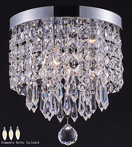 Smart Lighting-Shupregu 3-light Modern Crystal Chandelier