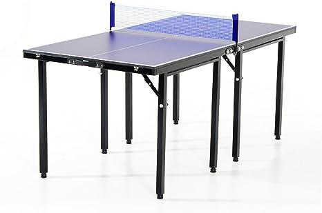 HOMCOM Mesa Ping Pong Plegable 153x76.5x67cm + Red Tenis Mesa Exterior Portatil Nuevo: Amazon.es: Deportes y aire libre