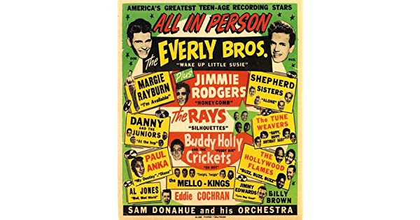 """The Everly Brothers  14 x 11/"""" Photo Print"""