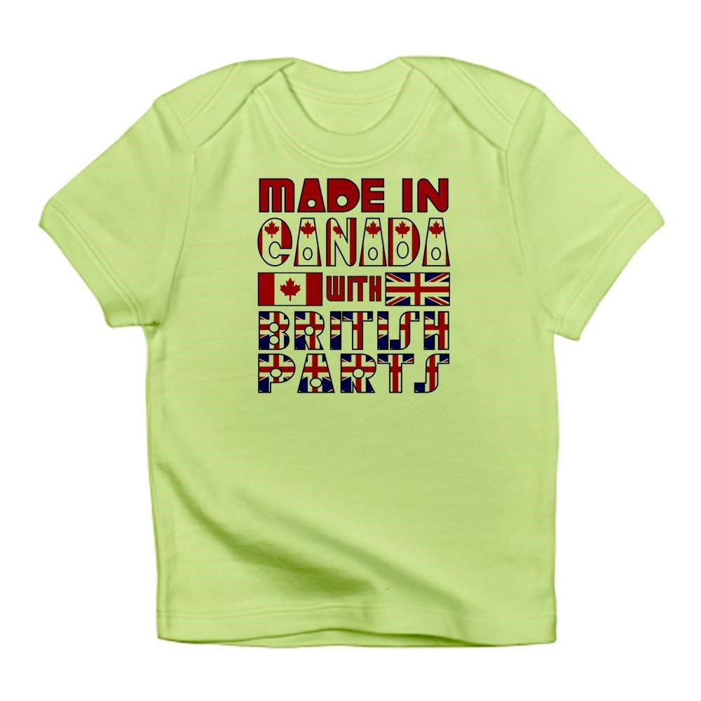 Amazon Cafepress Made In Canada British Parts Infant T Shirt