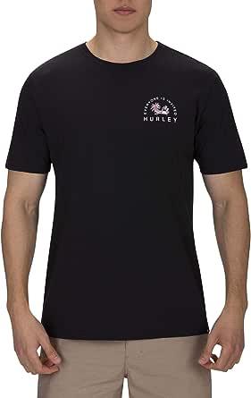 Hurley M Bnz Disco Chillin SS Camiseta Hombre