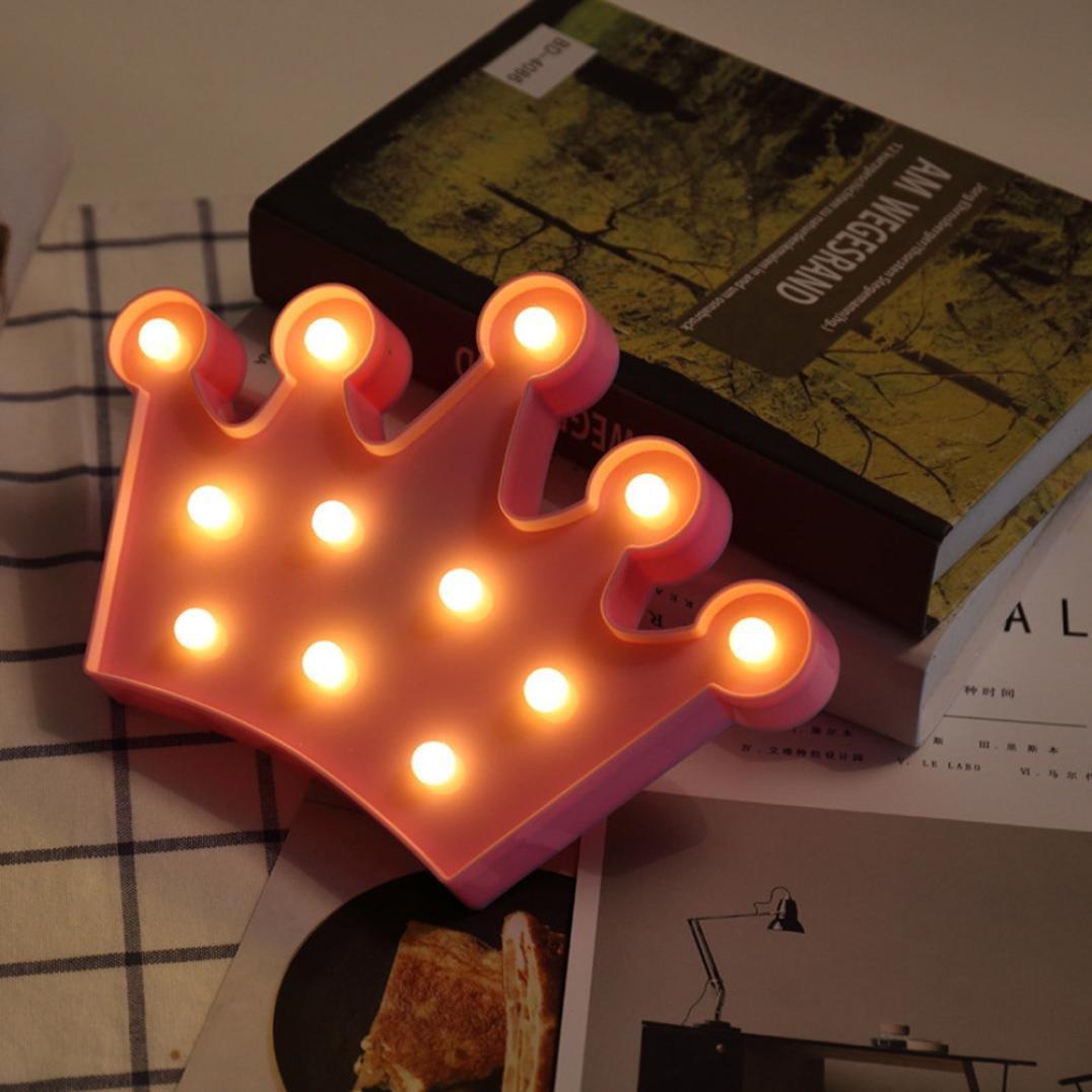 D/écoration int/érieure En plastique blanc Disponible dans les 26/lettres de lalphabet Erthome Lumi/ère LED en forme de /« L /»