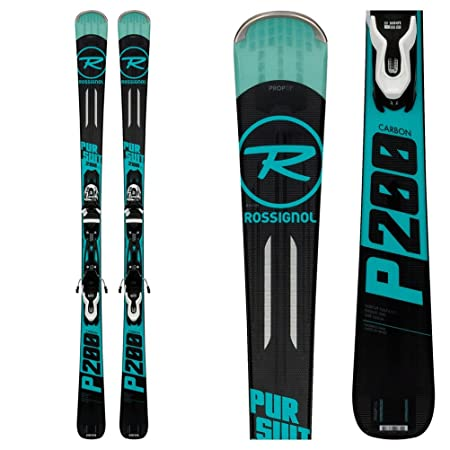 Rossignol Pursuit 200 Carbon Skis w XPress 10 Bindings Mens