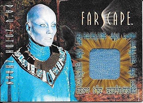 Superstar Movie Costume (2001 Farscape Season 2 #CC12 P'au Zotoh Zhaan Costume Material Relic SP/2000)