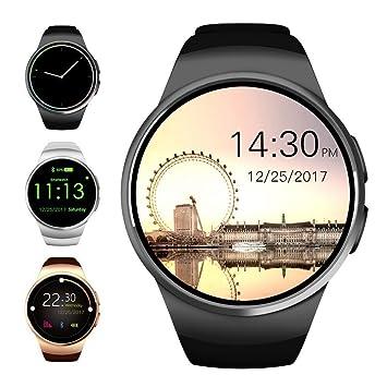 Bluetooth Smart Watch, Evershop 1.5 inches IPS Round Touch ...