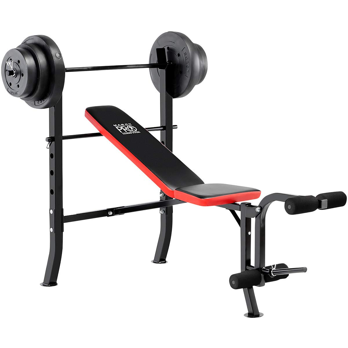Marcy Standard Bench & 100 LB Weight Set