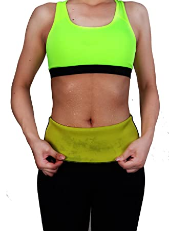 44216206e9d FOCUSSEXY Unisex Workout Waist Trainer Cincher Belly Shaper Gym Corset Belt