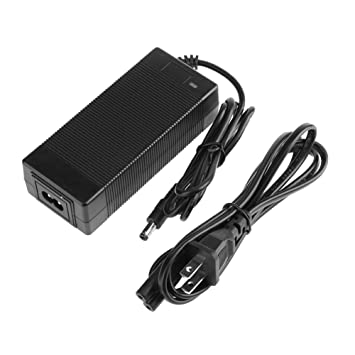 Ahomi 29,4 V 2 A Cargador de corriente DC enchufe para bicicleta eléctrica batería de litio Pack (US): Amazon.es: Coche y moto