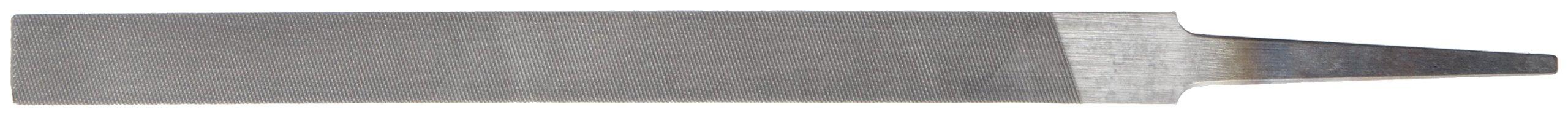 Nicholson Pillar File, Swiss Pattern, Double Cut, Rectangular, #0 Coarseness, 6'' Length by Apex Tool Group