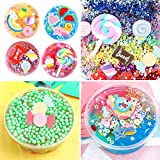 Holicolor 120pcs Slime Charms Cute Set Resin Charms