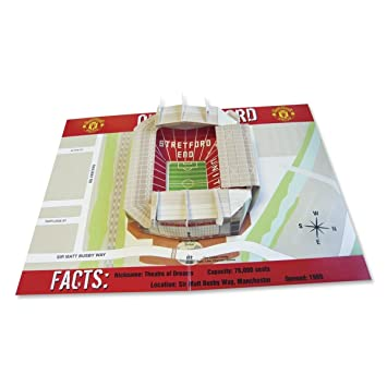 Manchester united fc 3d pop up birthday card amazon toys games manchester united fc 3d pop up birthday card bookmarktalkfo Image collections