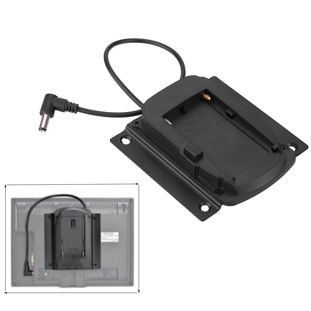 Chargers Andoer Battery Adapter Base Plate Battery Plate For Lilliput Feelworld Monitor For Sony Np-f970 F550 F770 F970 F960 F750 Battery Consumer Electronics