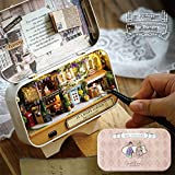 Cuteroom DIY Dollhouse Miniature Box Theatre Idea Art Handicraft Gift with Cutter knife tweezer For Birthday/Valentine's Day