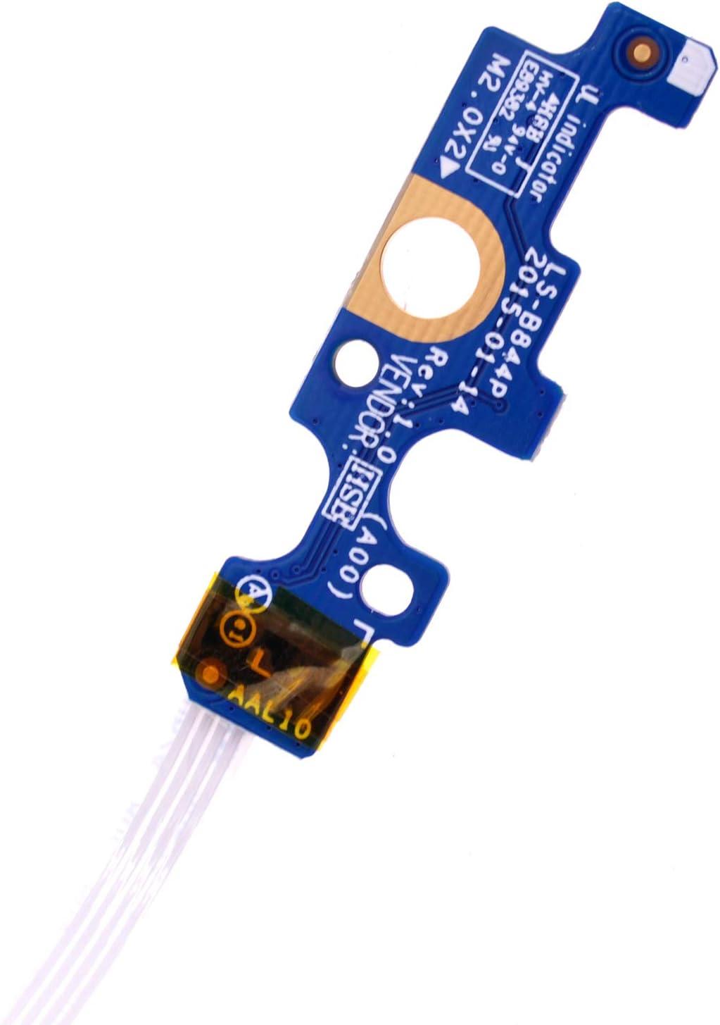 boton power  LS-B844P Dell Inspiron 15 5551 5552 5458 Vostro
